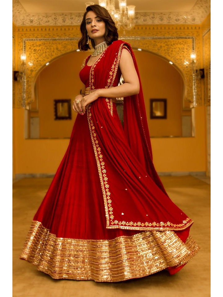 Lehenga Set with Dupatta