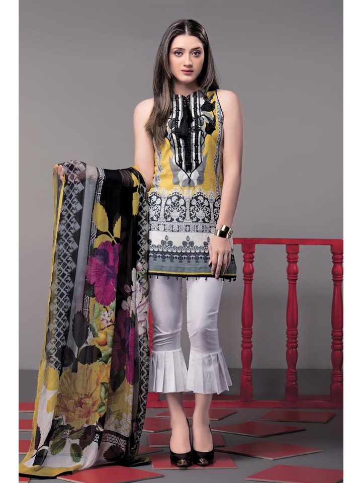 Short Kurthi with Designer Culotte Pants